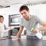 dọn dẹp bếp