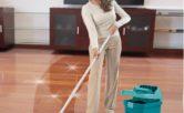 lau sàn nhà sạch bóng